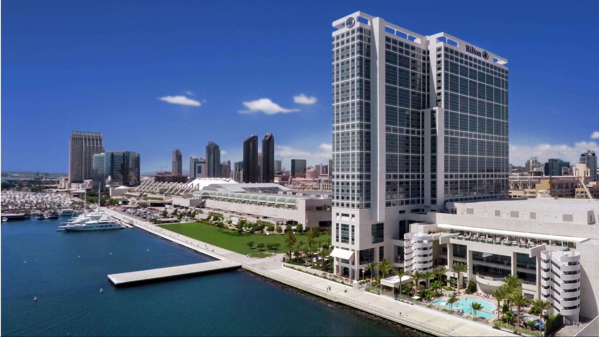Hilton San Diego Bayfront header